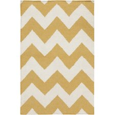 Frontier Golden Yellow/Winter White Rug