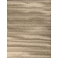 Ravena Parchment/Dark Taupe Striped Rug