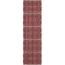 Frontier Venetian Red/Winter White Rug