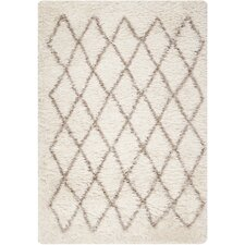 Rhapsody Winter White/Taupe Rug