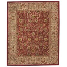 Forest Park Persian Cedars Red Rug