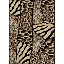 Vesuvio Animal Print Novelty Rug