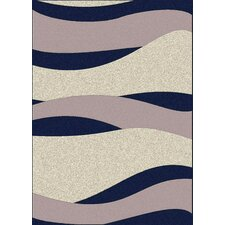 Bella Navy/Pearl Wave Rug