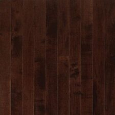 "Sugar Creek Plank 3-1/4"" Solid Maple Flooring in Cocoa Brown"