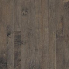 "Sugar Creek Plank 3-1/4"" Solid Maple Flooring in Pewter"