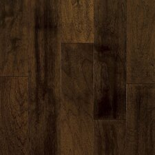 "Artesian Classics Color Wash 5"" Engineered Walnut Flooring in Spicy Amber"