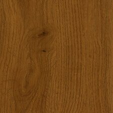 "Luxe Jefferson Oak 6"" x 36"" Vinyl Plank in Saddle"