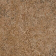 "Alterna Multistone 16"" x 16"" Vinyl Tile in Terracotta"