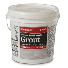 Premixed Sanded Acrylic Grout in Sea Shell - 1 Gallon