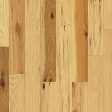 "American Treasures Plank 3-1/4"" Solid Hickory Flooring in Country Natural"