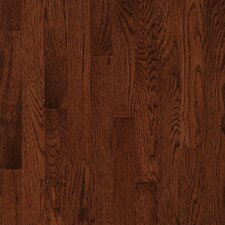"Natural Choice Strip Low Gloss 2-1/4"" Solid White Oak Flooring in Sierra"