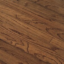"Northshore Plank 7"" Engineered Red Oak Flooring in Saddle"