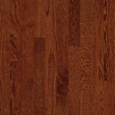 "Natural Choice Strip Low Gloss 2-1/4"" Solid White Oak Flooring in Cherry"
