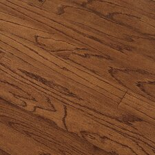 "Summerside Strip 2-1/4"" Engineered Red Oak Flooring in Saddle"