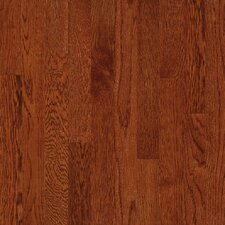 "Waltham Strip 2-1/4"" Solid White Oak Flooring in Whiskey"