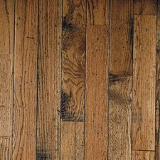 "Ellington Plank 3-1/4"" Solid Red / White Oak Flooring in Honey"