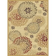 Shadows Chrysanthemum Multi Rug