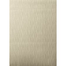 Tufted Scroll Beige Wave Rug