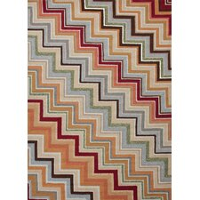 Colours I-O Multi Zigzag Rug