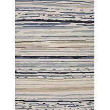 Colours I-O Gray Abstract Rug