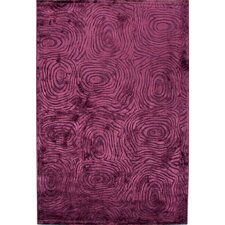 Fables Pink/Purple Abstract Rug