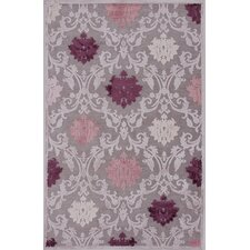 Fables Pink/Purple Floral Rug