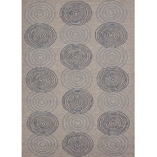 Grant Design I-O Gray/Black Geometric Rug