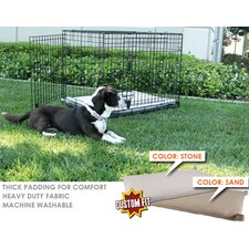 Basic Training Deluxe 2 Door Dog Crate Pad