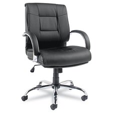 Ravino Big & Tall Series Leather Office Chair with Arms