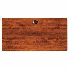 Valencia Series Rectangular Table Top in Medium Cherry