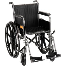 "18"" Steel Wheelchair"