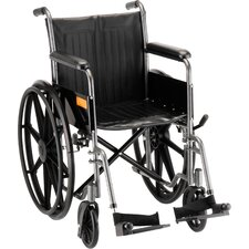Hammertone Wheelchair with Fixed Arm