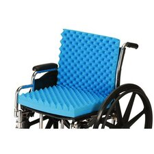 "3"" Convoluted Seat and Back Foam Cushion for 18"" X 16"" Wheelchair"