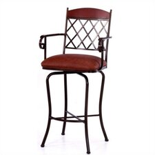 "Madrid 34"" Barstool w/ Arms"