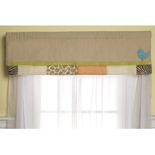 Wildlife Rod Pocket Tailored Curtain Valance