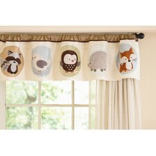 Forest Friends Rod Pocket Tailored Curtain Valance