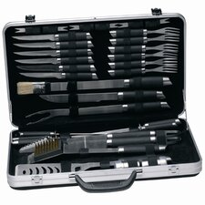 Gemini 33 Piece Barbecue Set with Case