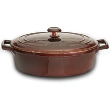 Neo Cast Iron Oval Casserole