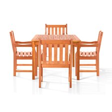 Monique 5 Piece Dining Set