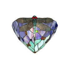 Dragonfly Jewel 1 Light Wall Sconce