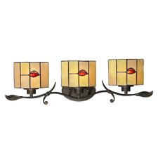 Fantom Leaf 3 Light Bath Vanity Light