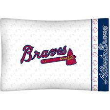 MLB Micro Fiber Pillow Case Logo