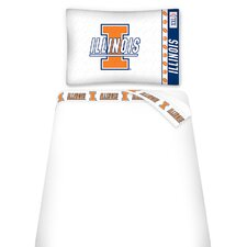 NCAA Micro Fiber Sheet Set