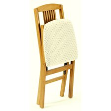 Simple Mission Wood Folding Chair Oak (Set of 2)