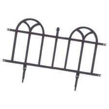 Weedblock Forged Wrought Iron Decorative Border