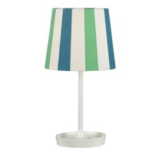 Raya Table Lamp with Striped Shade