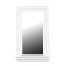 Juliet Wall Mirror in White Gloss
