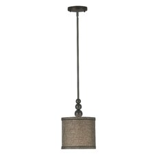 Margot 1 Light Mini Drum Pendant