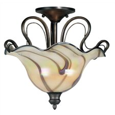 Inverness 2 Light Semi Flush Mount