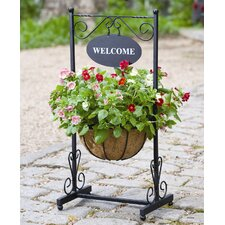 Blacksmith Welcome Round Planter